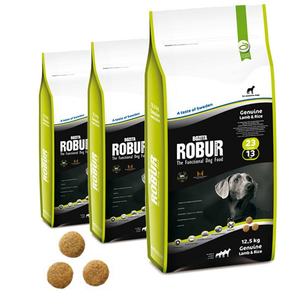 Bozita Robur Genuine Lamb & Rice