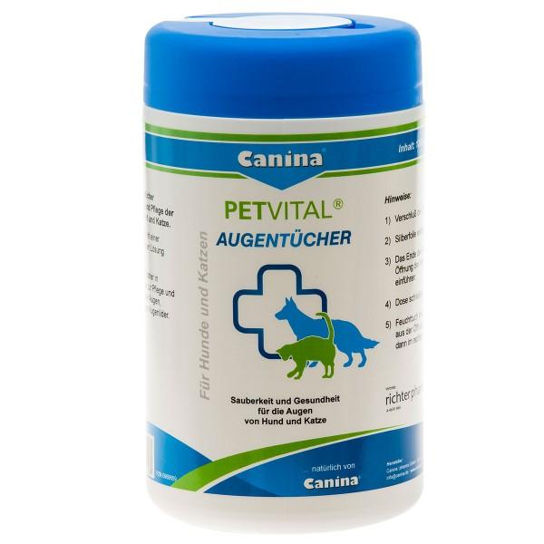 Canina Pharma Canina PETVITAL Augentücher 120 S...