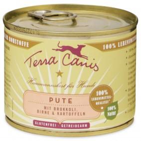 Terra Canis Pute mit Brokkoli, Birne und Kartoffel