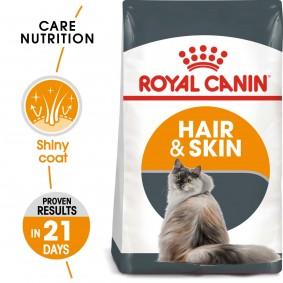 ROYAL CANIN Hair & Skin Care granule pro kočky k péči o zdravou srst