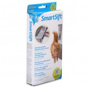 Catit SmartSift biologicky odbouratelné náhradní fólie do vaničky toalet pro kočky, 12 ks