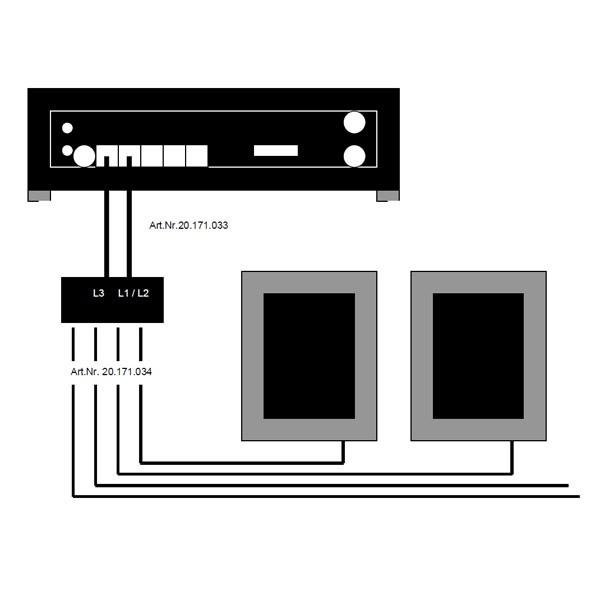 Giesemann Verbindungskabel TESZLA PULZAR zu BT Interface