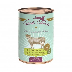 Terra Canis getreidefrei Kalb mit Petersilienwurzel, Mango & Johannisbeere