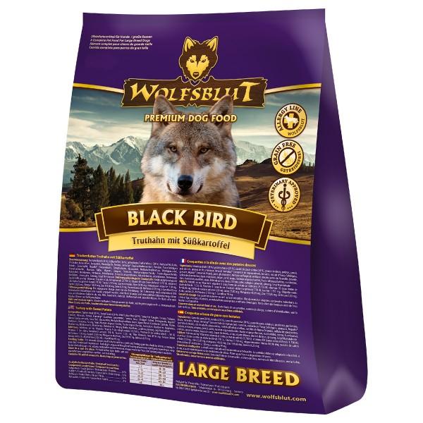 Wolfsblut Black Bird Large Breed - 2 kg