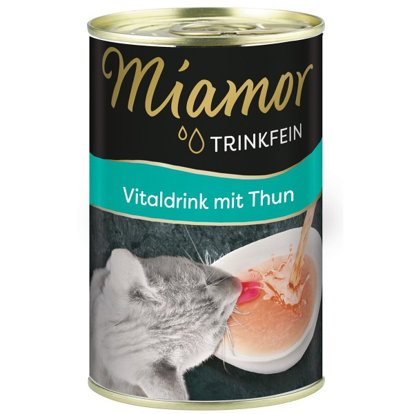 Miamor Trinkfein - Vitaldrink mit Thun