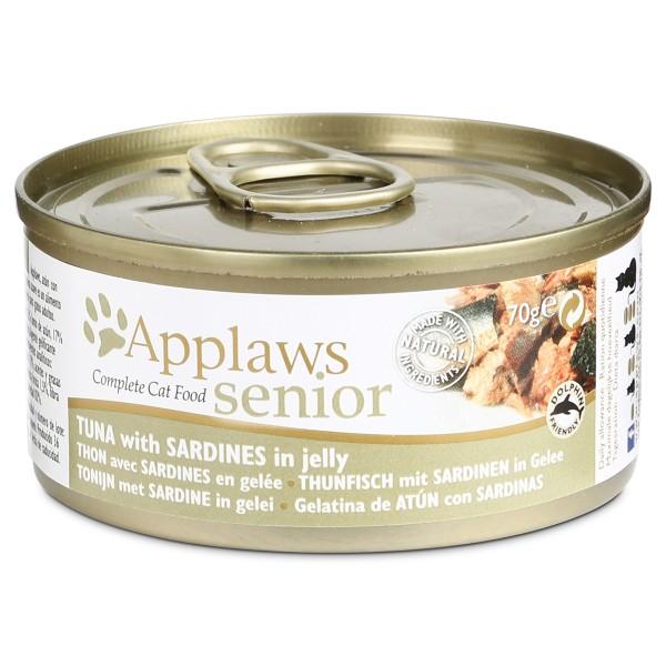 Applaws Cat Senior Thunfisch & Sardinen im Gelee