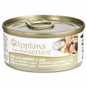 Applaws Cat Senior s tuňákem a sardinkami v želé