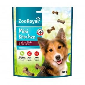 ZooRoyal Mini Knochen Rind & Geflügel