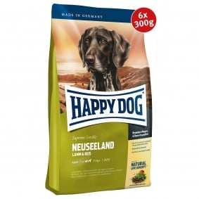 Happy Dog Supreme Neuseeland 6x300g Spenden-Aktion