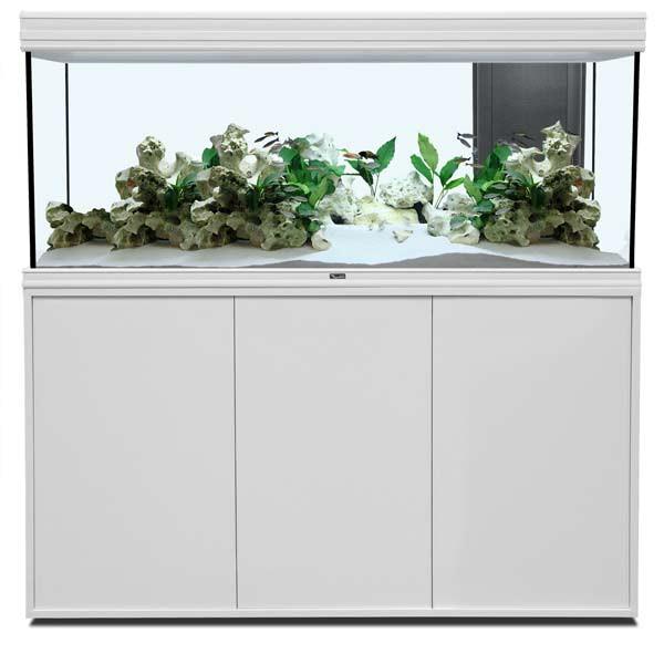 Aquatlantis Aquarium Kombination Fusion 120x50 LED weiß 19mm