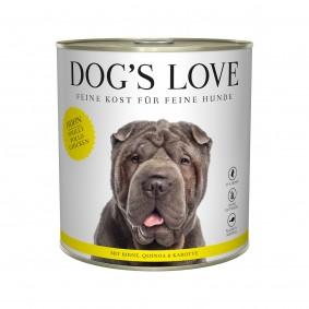 Dog's Love Classic Huhn mit Birne, Quinoa und Karotte