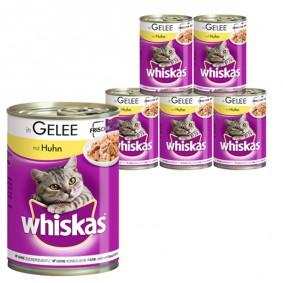 Whiskas Katzenfutter 1+ mit Huhn in Gelee 400g