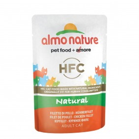 Almo Nature HFC Nature Value Pack 6x55g pouch Hühnerfilet