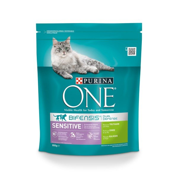 Purina ONE Bifensis Katzenfutter Sensitive Truthahn