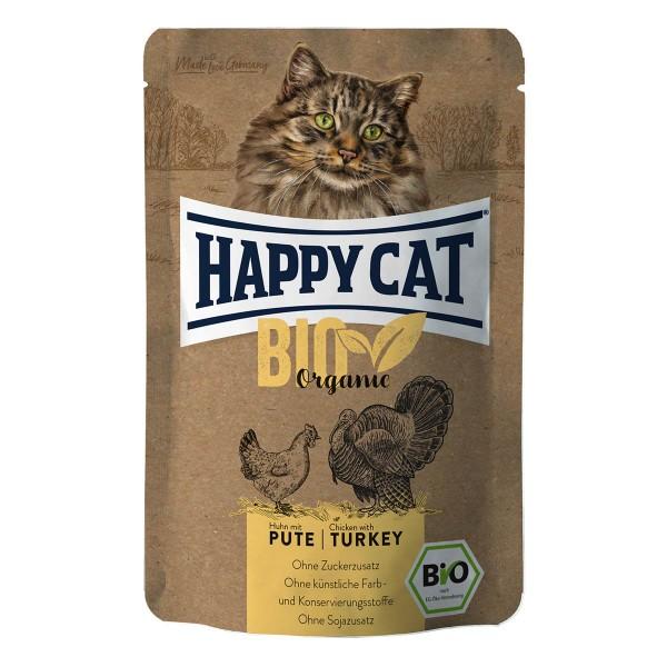 Happy Cat Bio Pouch Huhn & Pute