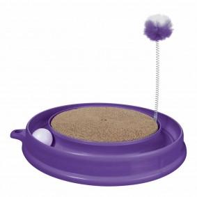 Catit Katzenspielzeug Play n Scratch lila