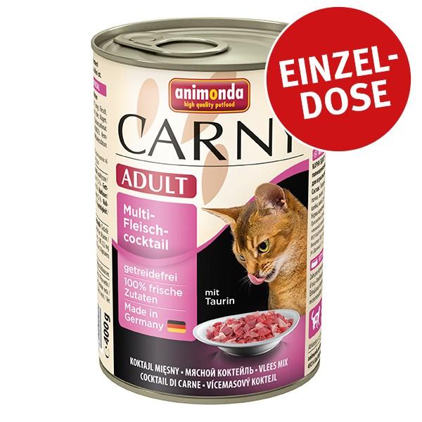 Animonda Katzen-Nassfutter Carny Adult Multi-Fleischcocktail 400g