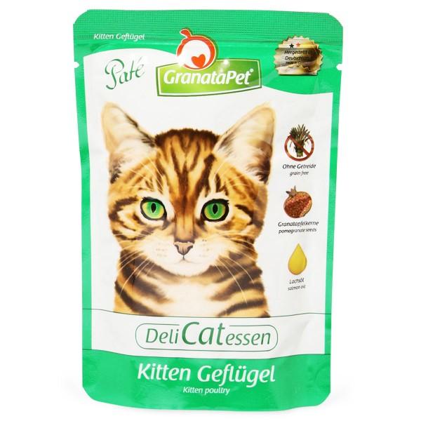 Granatapet DeliCatEssen Kitten Geflügel PUR Pouchbeutel 85g