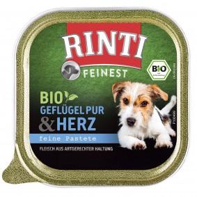 Rinti Feinest Bio Geflügel Pur mit Herz