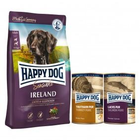 Happy Dog Supreme Sensible Irland 12,5kg + 400g Truthahn + 375g Lachs