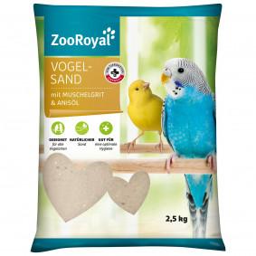 ZooRoyal Vogelsand mit Muschelgrit & Anisöl 2,5 kg