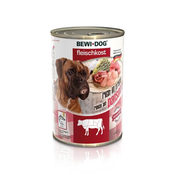 Bewi Dog Fleischkost Reich an Pansen