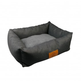 D&D Home Hundebett Bas denim