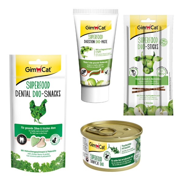 GimCat Superfood Probierpaket Mix 1