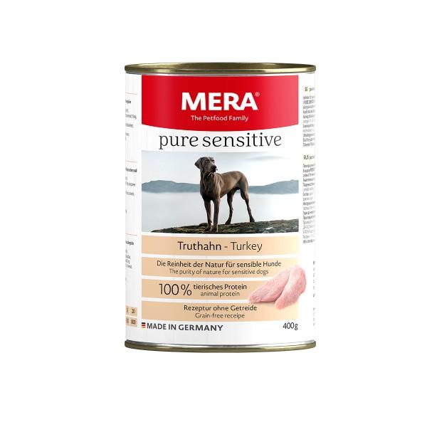 MERA pure sensitive Nassfutter MEAT Truthahn