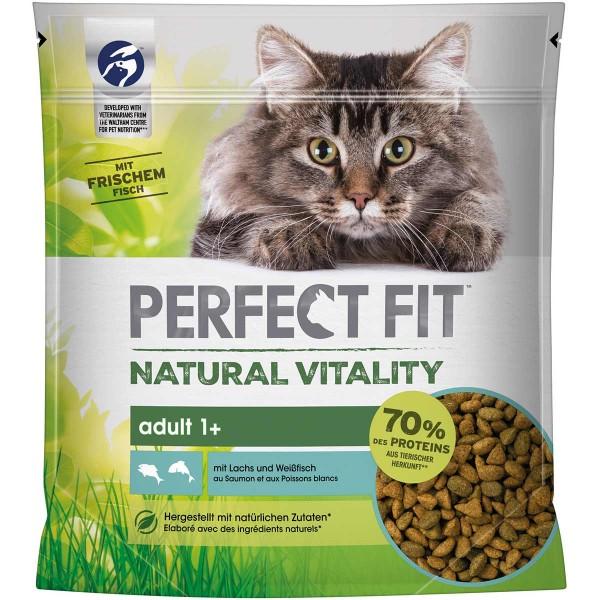 PERFECT FIT Katze Natural Vitality Adult 1+ mit Lachs und Weißfisch