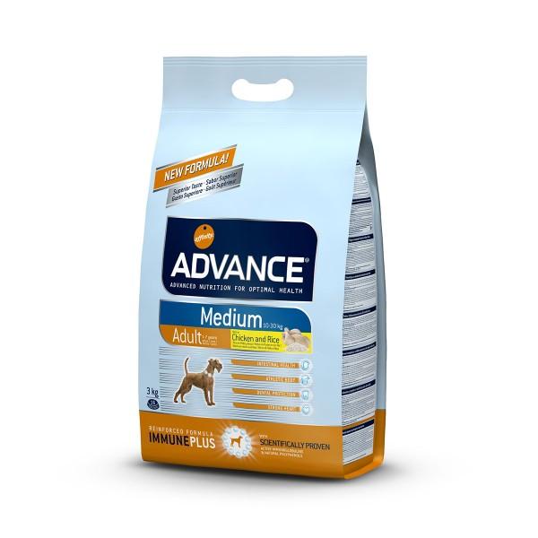 Advance Hundefutter Adult Medium - 3kg
