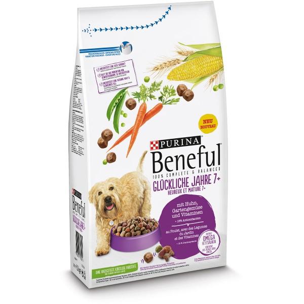 Beneful Happy Jahre - Heureux et Mature Croquettes pour chiens de 7 ans et plus