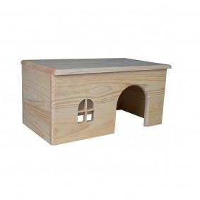 Trixie Holzhaus für Nager & Kleintiere - Meerschweinchen Sale Angebote Kröppen