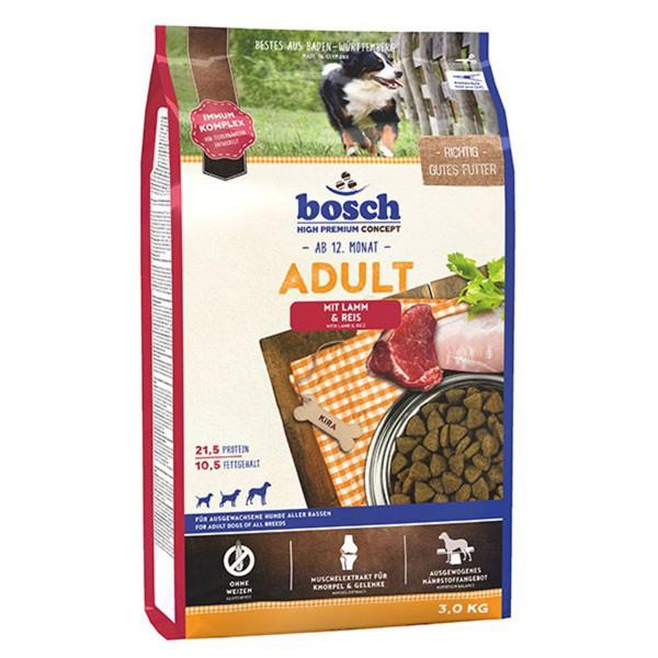 Bosch Hundetrockenfutter Adult Lamm & Reis - 3kg