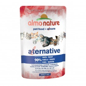 Almo Nature Alternative wet Cat Forelle - 24x55g Sale Angebote Guteborn