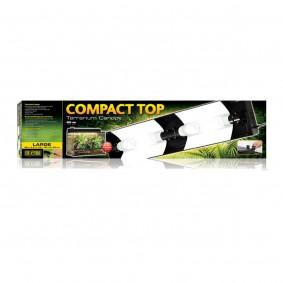 Exo Terra Compact Top Rampe d'éclairage pour terrariums 90 x 9 x 20cm