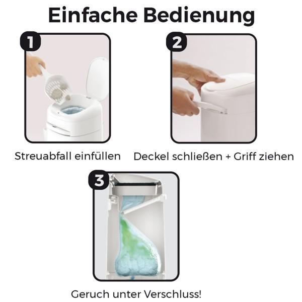 LitterLocker® Fashion Katzenstreu-Entsorgungseimer
