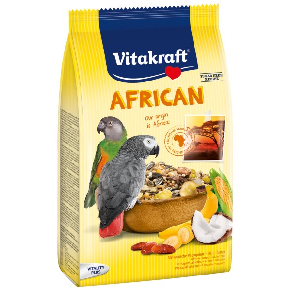 Vitakraft African Hauptfutter für afrikanische Papageien
