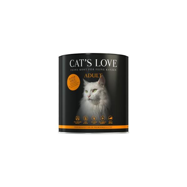 Cat's Love Trockenfutter Adult Pute und Wild 400g