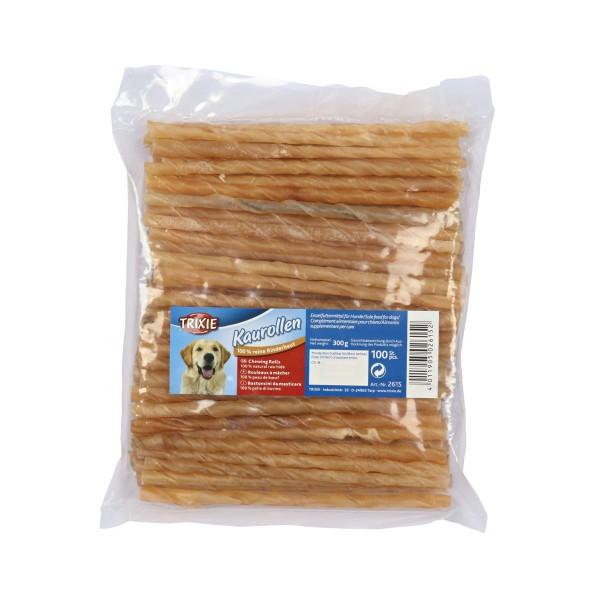 Trixie 100 žvýkací rolka ze stočené hovězí kůže, ø cca 9 - 10 mm