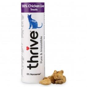 thrive 100% Hühnerleber Katzensnack