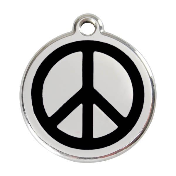 "Red Dingo Katzen- & Hundemarke ""Peace"""