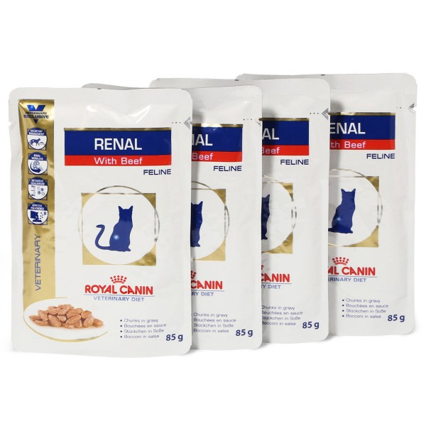 royal canin vet diet nassfutter renal beef kaufen bei zooroyal. Black Bedroom Furniture Sets. Home Design Ideas