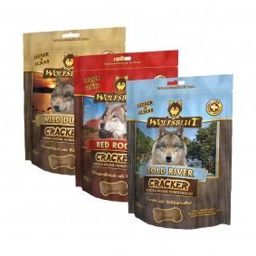 Wolfsblut Cracker Probierpaket 3x225g