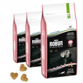 Bozita Robur Genuine Salmon & Rice
