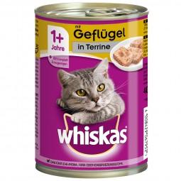 Whiskas Adult 1+ mit Geflügel in Terrine