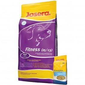 Josera Hundefutter Fitness für empfindliche Hunde 15kg + Josera Knuspies 1,5kg GRATIS