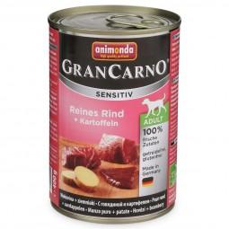 Animonda Hunde Nassfutter Grancarno Sensitiv Rind & Kartoffel