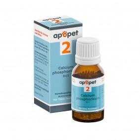 apopet Schüßler Salz Nr. 2 Calcium phosphoricum D12