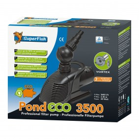 SuperFish Pond ECO Synchron-Teichpumpe 45W-175Watt
